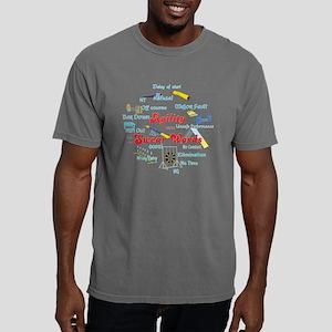 Agility Swear Words Mens Comfort Colors Shirt