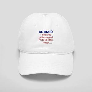Retired & Tired Cap