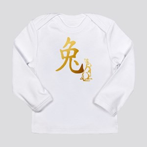 Gold Year Of The Rabbit Trans Long Sleeve Infa