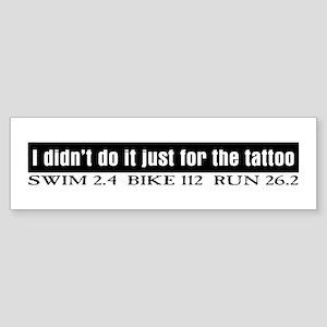 """""""Tattoo"""" Bumper Sticker"""