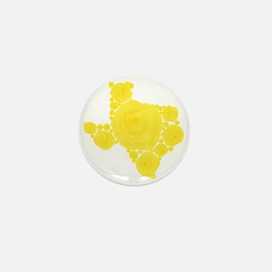 Yellow Rose of Texas Mini Button
