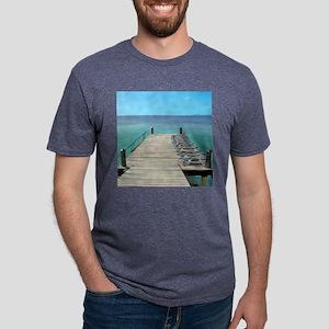 bellafonte_dock-2 Mens Tri-blend T-Shirt