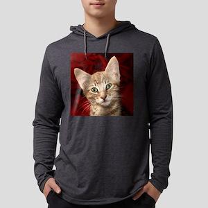 Barney for tile1 Mens Hooded Shirt