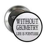 """Without Geometry Life Is Pointless 2.25"""" Butt"""