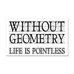 Without Geometry Life Is Pointless Rectangle Car M