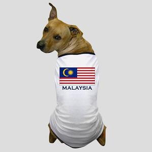 Malaysia Flag Gear Dog T-Shirt