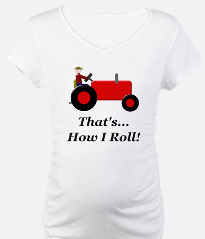Red Tractor How I Roll Shirt
