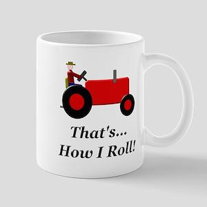 Red Tractor How I Roll Mug