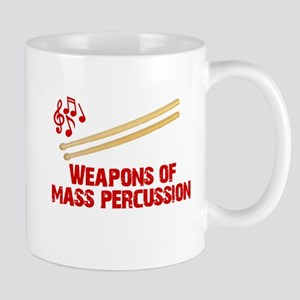 Weapons of Mass Percussion Drum Band Mug