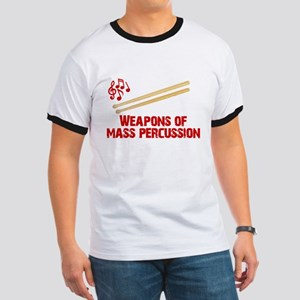 Weapons of Mass Percussion Drum Band Ringer T