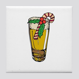 Christmas Ale Tile Coaster