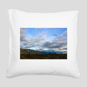 Valemount B.C Square Canvas Pillow