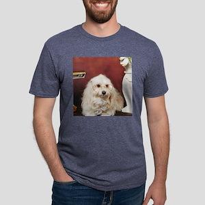 smarthavanese Mens Tri-blend T-Shirt