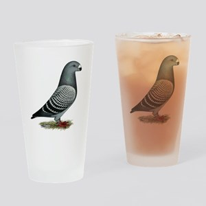 Show Racer Light Check Drinking Glass