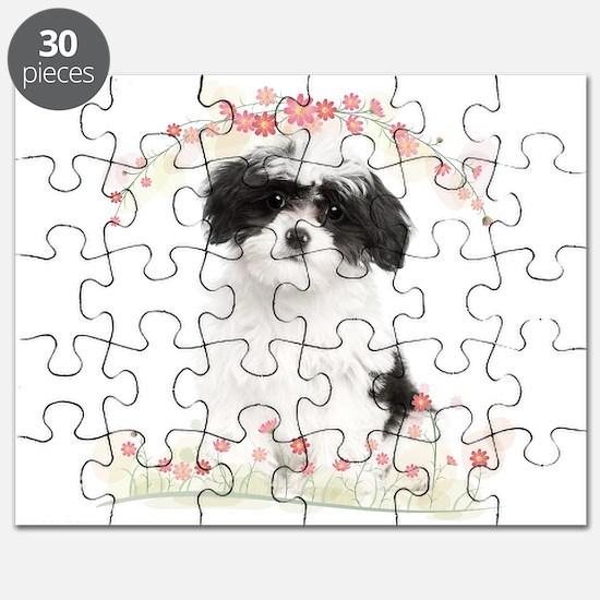 Havanese Flowers Puzzle