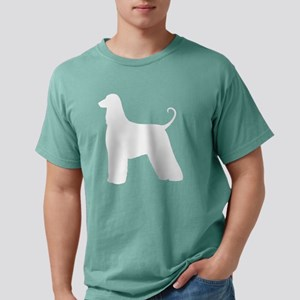 Afghan Hound Silhouette Mens Comfort Colors Shirt
