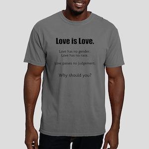 Love is Love. Mens Comfort Colors Shirt