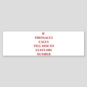fibonacci Sticker (Bumper)