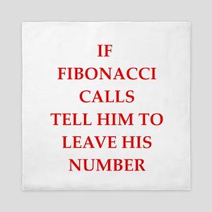 fibonacci Queen Duvet