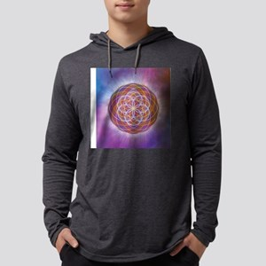 Eye Of Illumination Mens Hooded Shirt