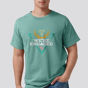 Couples Matching Engagem Mens Comfort Colors Shirt