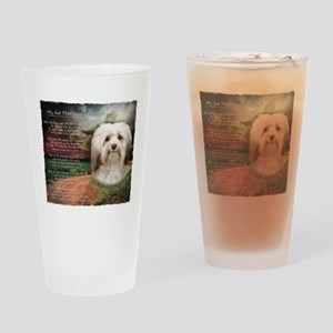 Why God Made Dogs - Havanese Drinking Glass