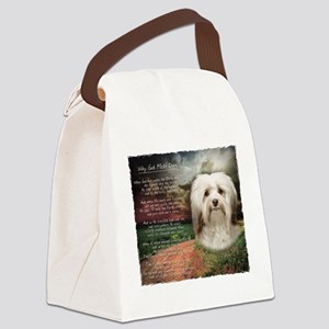 Why God Made Dogs - Havanese Canvas Lunch Bag