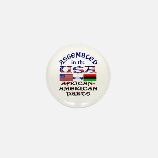 USA / African-American Parts Mini Button