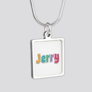 Jerry Spring11 Silver Square Necklace