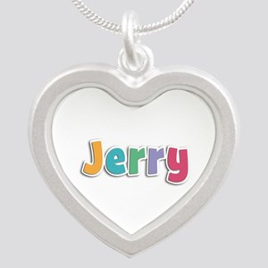 Jerry Spring11 Silver Heart Necklace