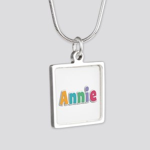 Annie Spring11 Silver Square Necklace