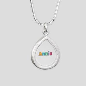 Annie Spring11 Silver Teardrop Necklace