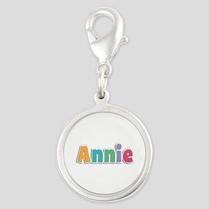 Annie Spring11 Silver Round Charm