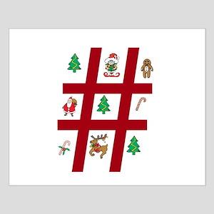 Tic-Tac-Toe Christmas Small Poster