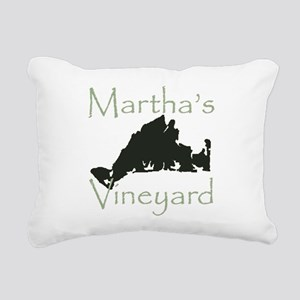 Martha's Vineyard Rectangular Canvas Pillow
