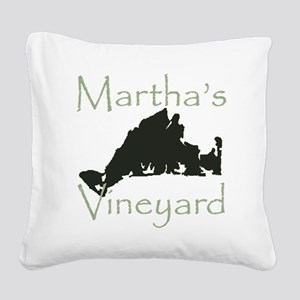 Martha's Vineyard Square Canvas Pillow