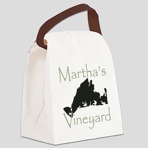 Martha's Vineyard Canvas Lunch Bag