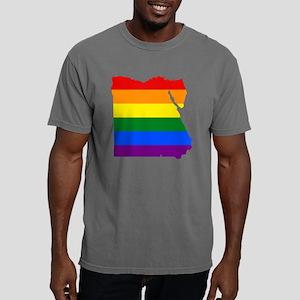 Gay Pride Flag Egypt Mens Comfort Colors Shirt