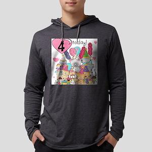 ZXKITTENS4 Mens Hooded Shirt