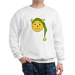 Elf-Cat Sweatshirt (white)