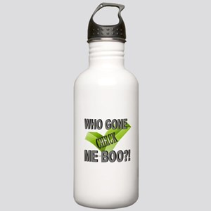 Check who? Stainless Water Bottle 1.0L