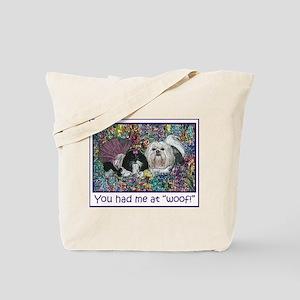 Shih Tzu Fine Art PoochMe Tote Bag