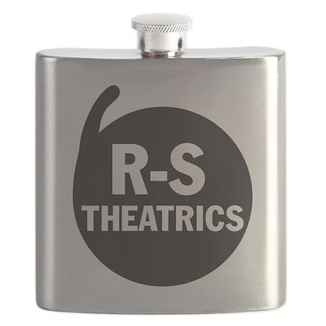 R-S Theatrics Logo Black Flask