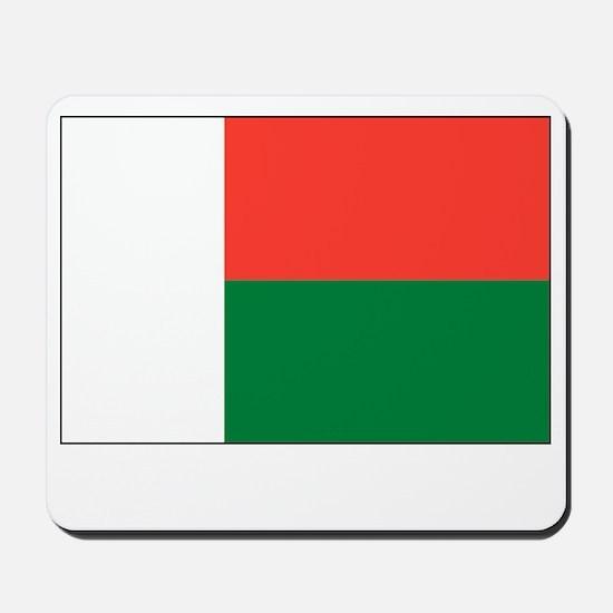 Madagascar Flag Picture Mousepad