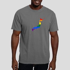 Gay Pride Flag Japan Mens Comfort Colors Shirt