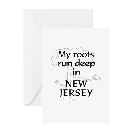 New Jersey Roots Greeting Cards (Pk of 10)