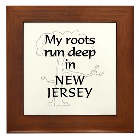 New Jersey Roots Framed Tile