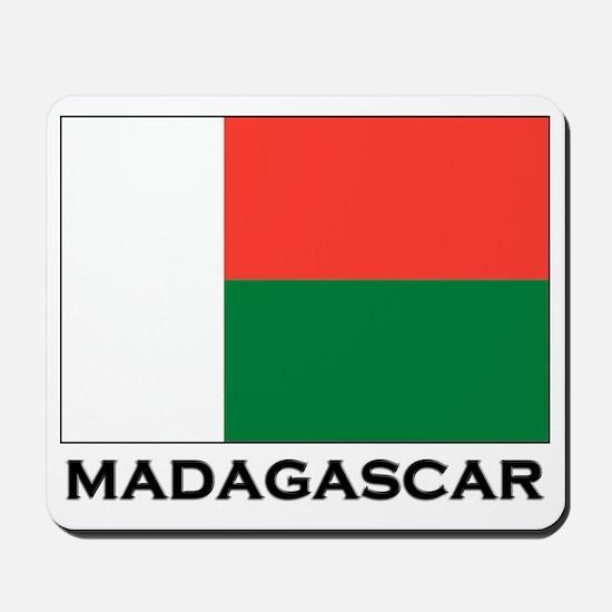 Madagascar Flag Stuff Mousepad