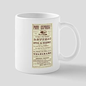 Pony Express Flyer Mug