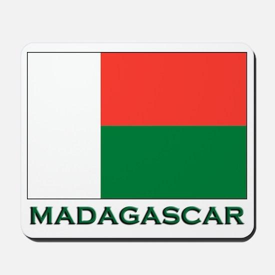 Madagascar Flag Gear Mousepad